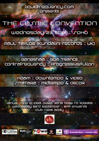 Cosmic Convention